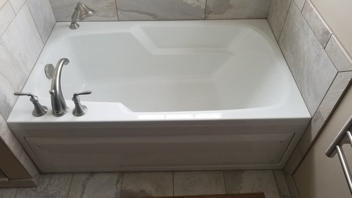 Alcove Soaking Tub
