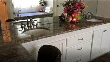Traditional Style Vanity with Undermount Sink